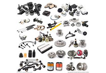 Parts and components of car, electric bicycle, motorcycles, high speed train and so on.