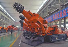 Various large-scale machinery, machine tools and heavy equipments.