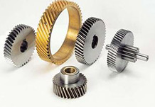 Motors, bearings, gears, all type of pipe joints ,metal stamping parts.